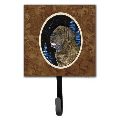 Starry Night Mastiff Leash Holder and Key Hook