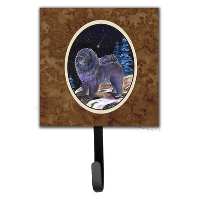 Starry Night Chow Chow Leash Holder and Wall Hook