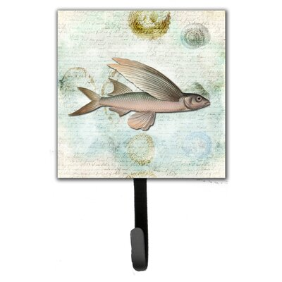 Fish Leash Holder and Wall Hook