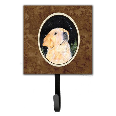 Starry Night Golden Retriever Leash Holder and Wall Hook