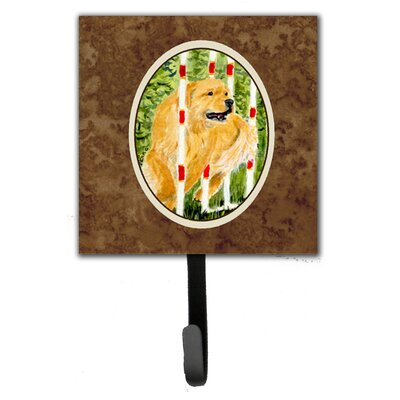 Golden Retriever Leash Holder and Wall Hook