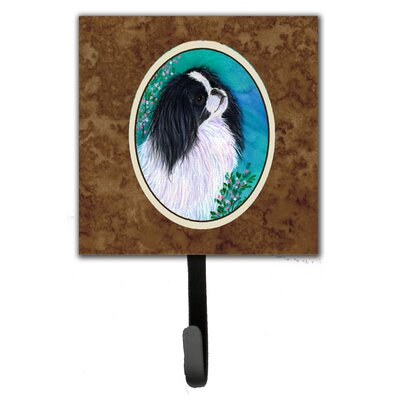 Japanese Chin Leash Holder and Wall Hook