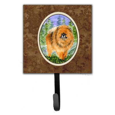Pomeranian Leash Holder and Wall Hook