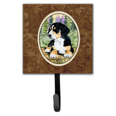 Entlebucher Mountain Dog Leash Holder and Key Hook