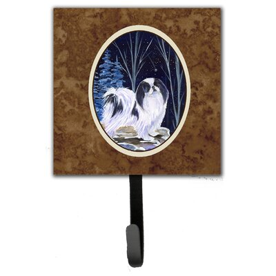 Starry Night Japanese Chin Leash Holder and Wall Hook