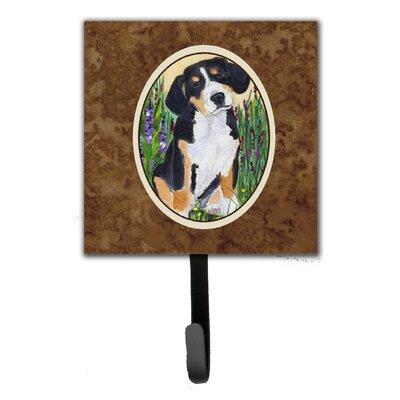 Entlebucher Mountain Dog Leash Holder and Wall Hook
