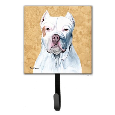 Pit Bull Leash Holder and Wall Hook