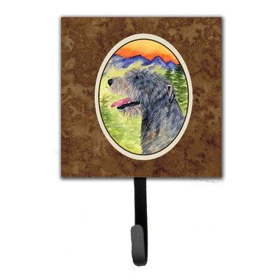 Irish Wolfhound Leash Holder and Wall Hook