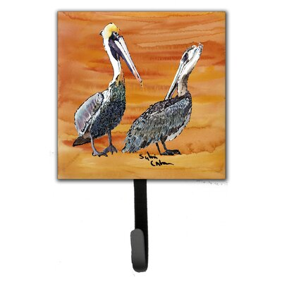 Pelican Bird Leash Holder and Wall Hook