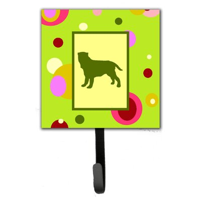 Neapolitan Mastiff Leash Holder and Wall Hook