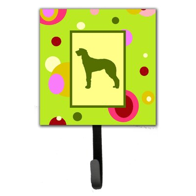Scottish Deerhound Leash Holder and Wall Hook