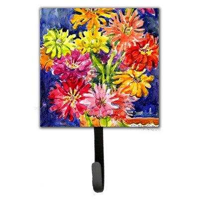 Gerber Daisies Flower Leash Holder and Wall Hook