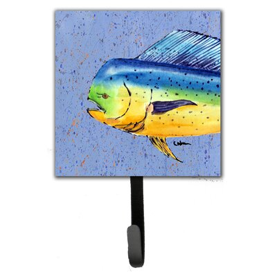 Dolphin Mahi Mahi Leash Holder and Wall Hook