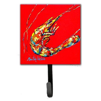 Shrimp Backwards Then Forwards Wall Hook