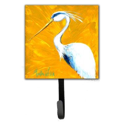Blue Heron Col Mustard Wall Hook