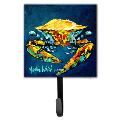 Crab Catch Up Wall Hook
