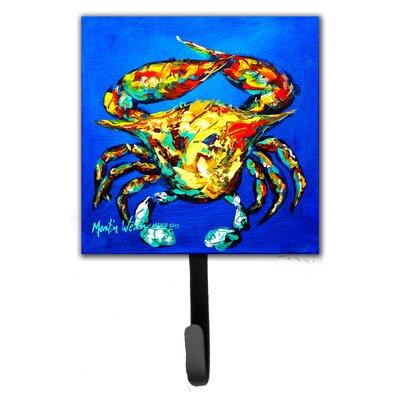 Crab Criss Crow Wall Hook