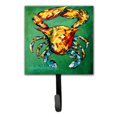 Crab Two Snaps Leash Holder and Key Hook