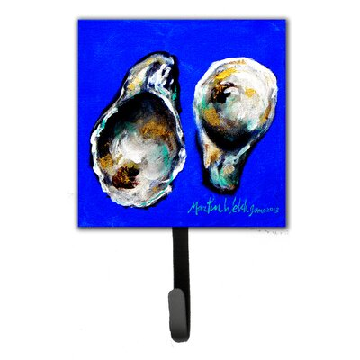 Oyster Up and Down Leash Holder and Key Hook