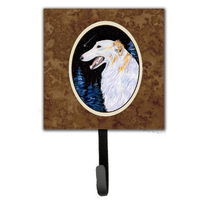 Borzoi Leash Holder and Key Hook