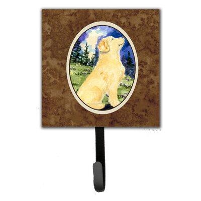 Golden Retriever Leash Holder and Key Hook