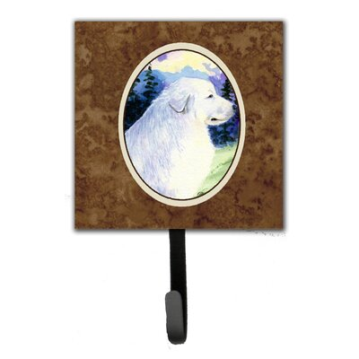 Great Pyrenees Leash Holder and Key Hook