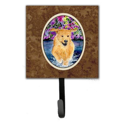Golden Retriever Leash Holder and Key Hook