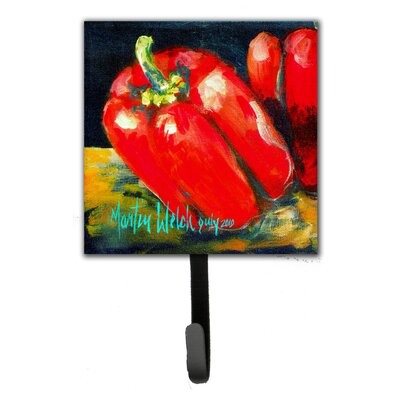 Bell Pepper Two Bells Leash Holder and Key Hook