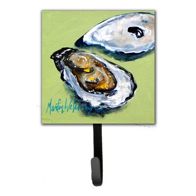 Oyster Two Shells Leash Holder and Key Hook