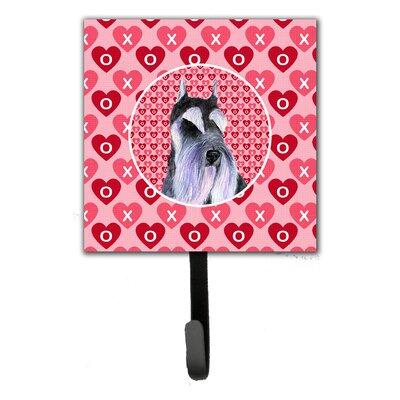 Schnauzer Leash Holder and Key Hook