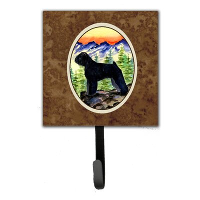 Bouvier Des Flandres Leash Holder and Key Hook