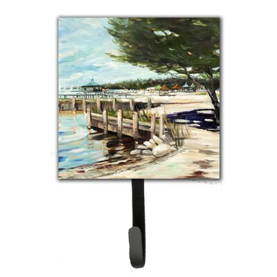 At The Pier Sailboats Leash Holder and Key Hook