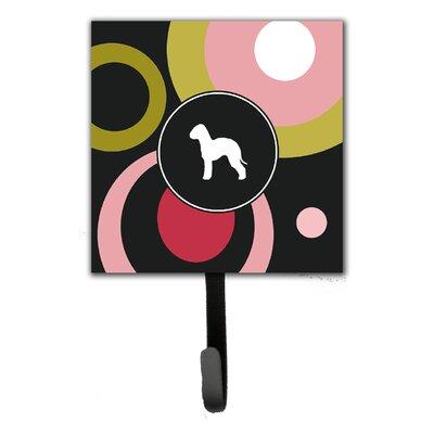 Bedlington Terrier Leash Holder and Key Hook