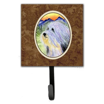 Bearded Collie Wall Hook