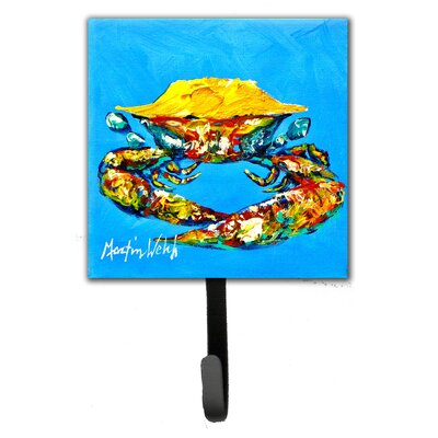 Crab Baby Leash Holder and Key Hook