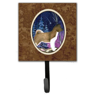 Starry Night Akita Leash Holder and Wall Hook