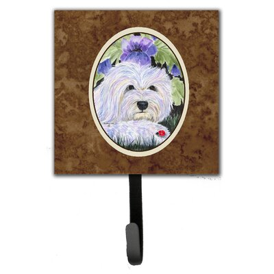 Coton De Tulear Leash Holder and Wall Hook