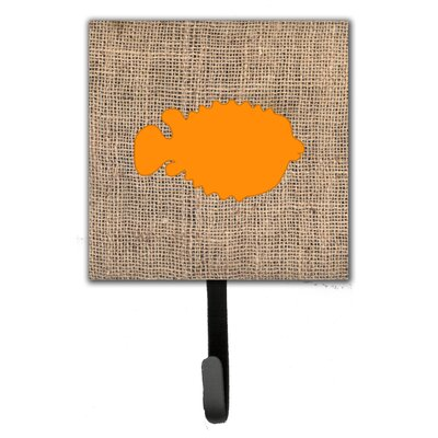Blowfish Leash Holder and Wall Hook