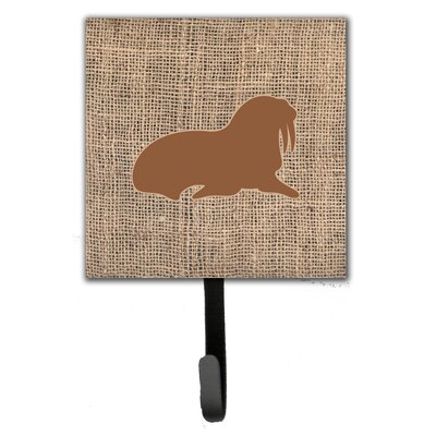 Walrus Leash Holder and Wall Hook
