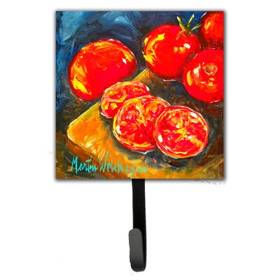 Tomato Slice It Up Leash Holder and Wall Hook