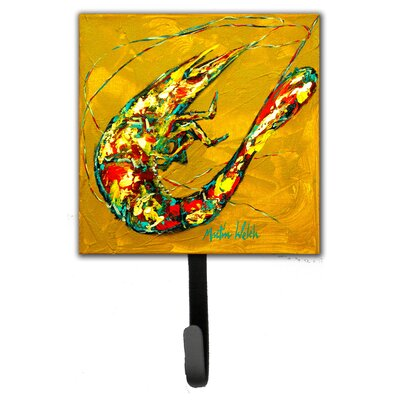 Shrimp and Hot Mustard Leash Holder and Wall Hook