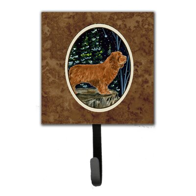 Sussex Spaniel Leash Holder and Wall Hook