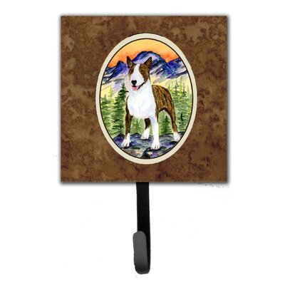Bull Terrier Leash Holder and Wall Hook