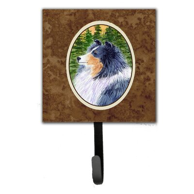 Sheltie Leash Holder and Wall Hook
