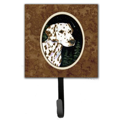 Starry Night Dalmatian Leash Holder and Wall Hook