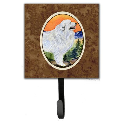 Great Pyrenees Leash Holder and Wall Hook