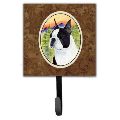 Boston Terrier Leash Holder and Wall Hook