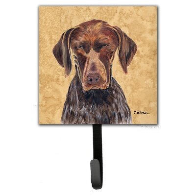 German Shorthai Pointer Leash Holder and Wall Hook