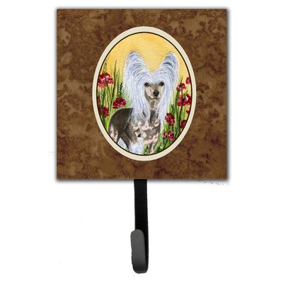 Chinese Crested Leash Holder and Wall Hook