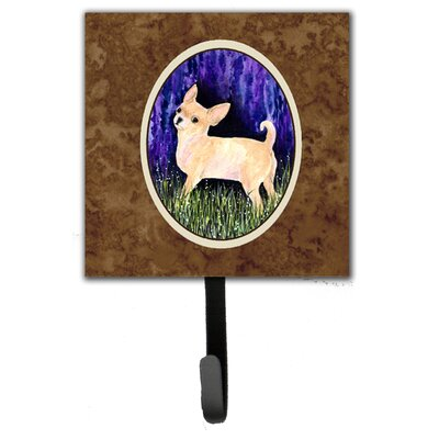 Starry Night Chihuahua Leash Holder and Wall Hook